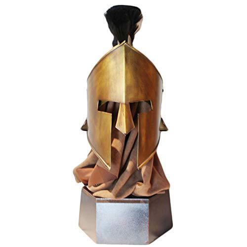 XUNMAIFLB Spartanische Helmverzierungen, Antiker Rom-mittelalterlicher...