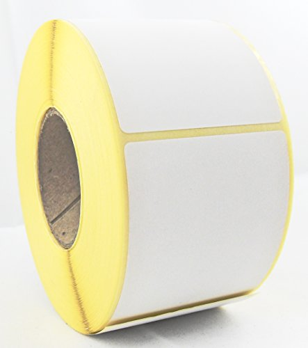 Thermoetiketten z.B. für Bizerba 58x43 mm - 40 mm - 24 Rollen/Karton - 1040 Etiketten je Rolle