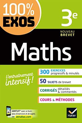 Maths 3e: exercices résolus - Troisième