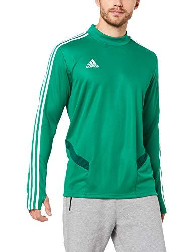 adidas Herr Mesh Training Shooting 19 långärmad tröja Blå/vit S