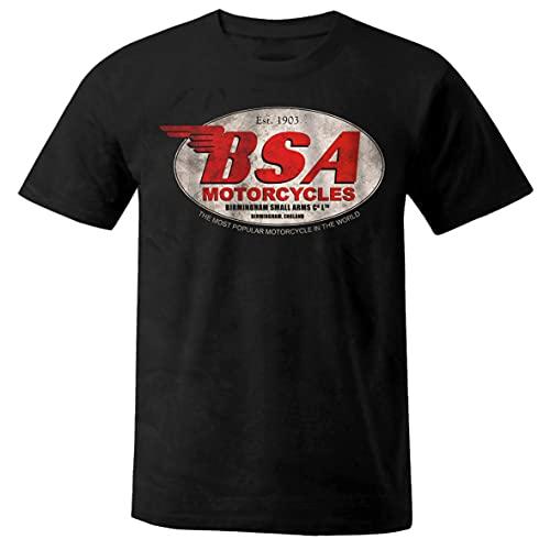 motocicleta Chopper Route 66 Custom Motociclistas Bobber Cafe Racer camisa camiseta L