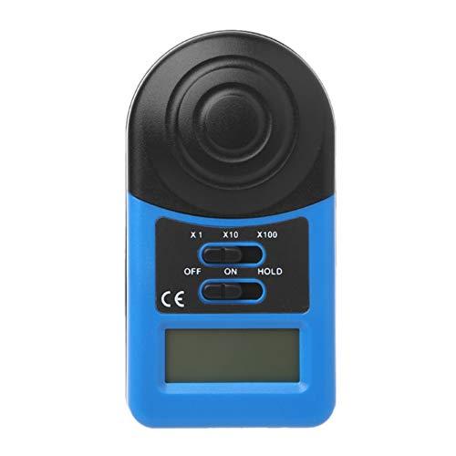 WMC Luxmetro, LCD Digital Light Meter 1~500,000Lux Lux Palmare Meter Adatto A Fabbrica/Magazzino/Scuola/Ufficio/Famiglia/Laboratorio