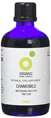 Organic Herbal Remedies 100 ml Chamomile Tincture