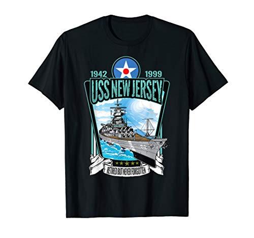 Vintage World War 2 Battleship USS New Jersey gift T-Shirt