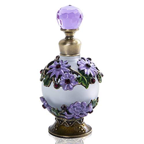 YU FENG - Bote de Perfume Redondo de 25 ml, diseño de Flore