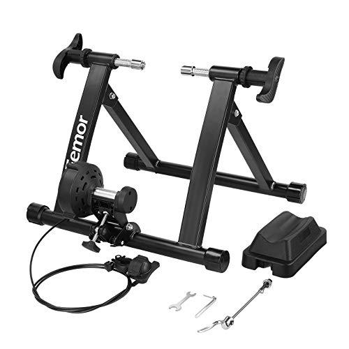 Femor Rodillo Bicicletas, Rodillo Magnetico de Acero,Carga hasta 150KG,para Entrenamiento Ciclismo en Casa