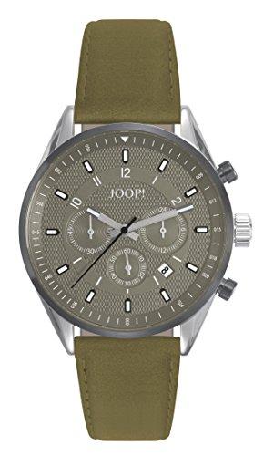 Joop! Herren Chronograph Quarz Uhr mit Leder Armband JP101911003