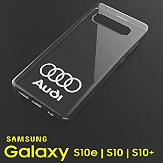 Audi logo Clear gel phone case for Samsung Galaxy S10 S10 Plus + S10E smartphone with S4 S5 S6 S7 A4 A5 A6 A7 A8 Q3 Q4 Q5 Q7 (MULTICOLOR)