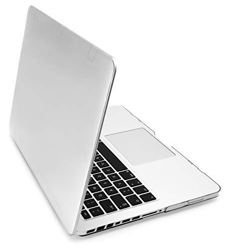 """MyGadget Cover Lucida per Apple MacBook PRO 13"""" - Mac Prima 2012 (Modello A1278 con CD-Rom) - Custodia Rigida Snap On Glossy Liscia e Sottile - Trasparente"""
