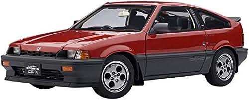 AUTOart 73262 fürzeug Miniatur Honda Ballade Sports CRX Wenn Rot Ma ab 1 18