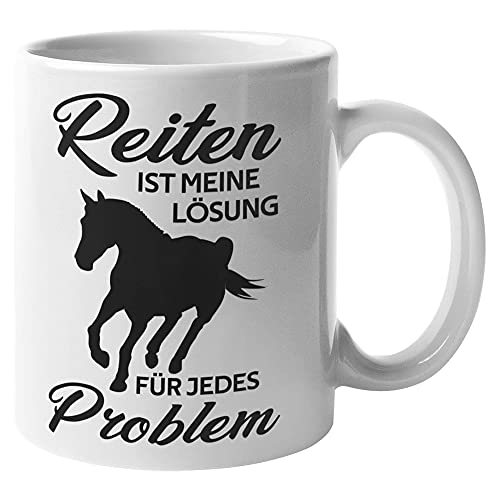 Taza de café con texto en inglés 'Riding,Rider Saying'