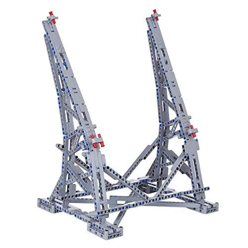 Lommer Support Stand Verticale Présentoir Compatible avec Lego Faucon Millenium Star Wars 75192 - Pas modèle Lego