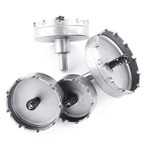 3pcs TCT Core Metalworking Cutter Tool 26mm+30mm+53mm HSS Drill Bit Hole Saw Set Carbide Tip Foret Metaux brocas para Metal New