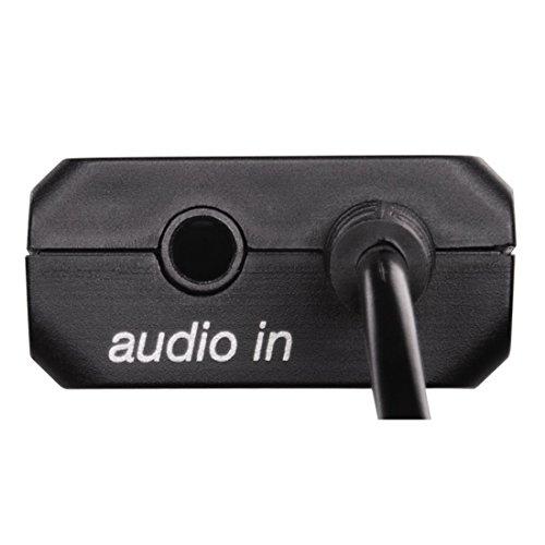 Hama Bluetooth Audio Sender Twin (Empfänger Adapter zur gleichzeitigen Übertragung an 2 Kopfhörer oder Lautsprecher, drahtlos BT Nachrüstung)