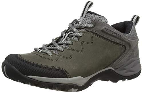 Merrell Siren Traveller Q2 Leather, Zapatillas de Senderismo para Mujer, Gris Grey, 39 EU