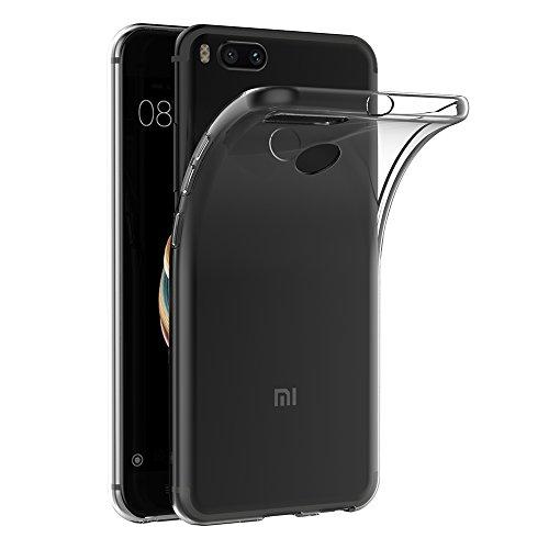 """AICEK Funda Xiaomi Mi 5X / Xiaomi Mi A1, Transparente Silicona Fundas para Xiaomi 5X Carcasa Silicona Funda Case (5.5"""")"""