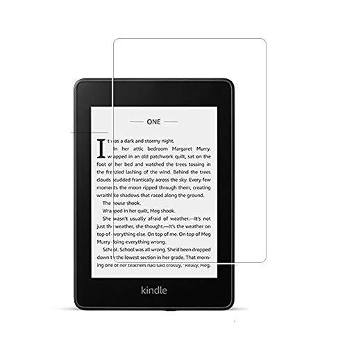 Protector de Pantalla Zshion para Kindle Paperwhite 2018 (10ª generación), [2 Unidades] Protector de Pantalla de Cristal Templado para Paperwhite 2018 con antihuellas y Resistente a los arañazos