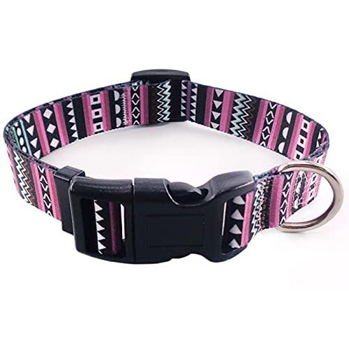 Yetier El Collar de Perro, el Collar del Animal doméstico de Moda y Durable imprimió los Productos del Animal doméstico del Modelo geométrico del Collar de Perro