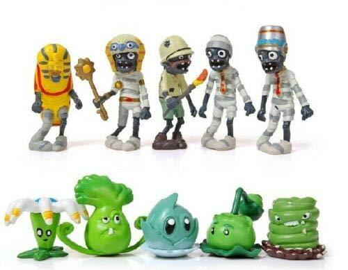 Plants vs Zombies Toys 10pcs/Set New Dolls Anime Action Figure PVZ PVC || US Stock