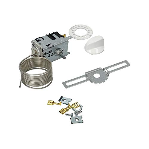 Thermostat Kühlschrankthermostat mit Zubehör für Danfoss 077B7003 Nr.3 für Kühlschrank