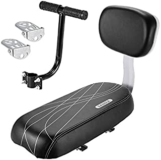 Facibom Cykel baksäte kudde armstöd fotstödsset, cykel baksäte säkerhetskudde armstöd räcke bakre fötter pedaler