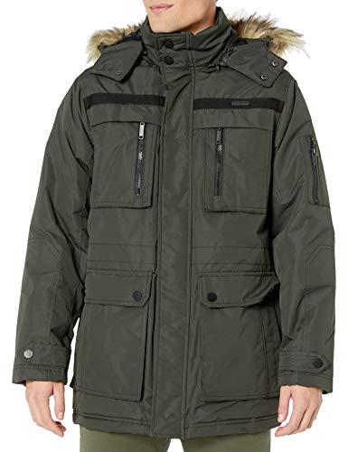 Rocawear Men's Outerwear Jacket, Classic Paprika Dark Olive, M