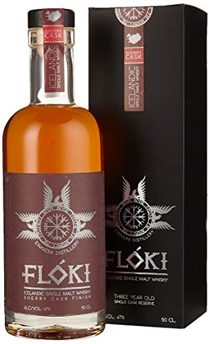 Flóki Icelandic OLOROSO SHERRY CASK FINISH Single Malt Whisky  Whisky (1 x 0.5)