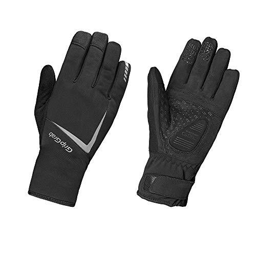 GripGrab Unisex– Erwachsene Optimus Extrem Warme wasserdichte Winter Fahrradhandschuhe Gepolsterte Touchscreen Radsport Winterhandschuhe Fahrrad Handschuhe, Black, S