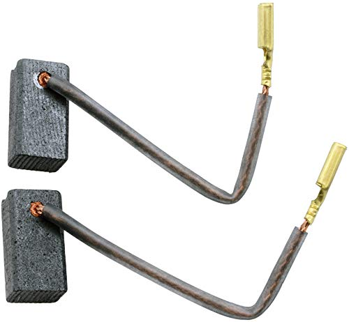 Escobillas de Carbón para BLACK & DECKER KG 65 amoladora - 6,5x8x15mm - 2.4x3.1x5.9\'\'