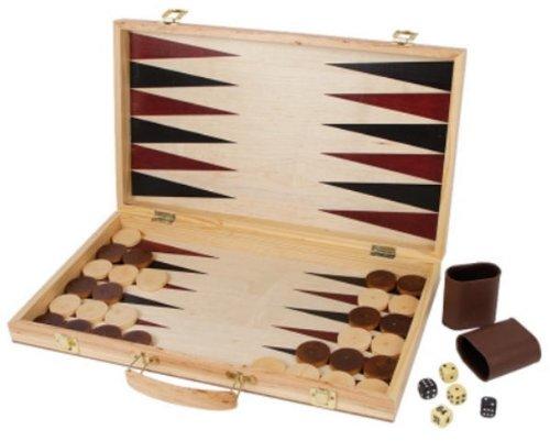 Les échecs et backgammon Case