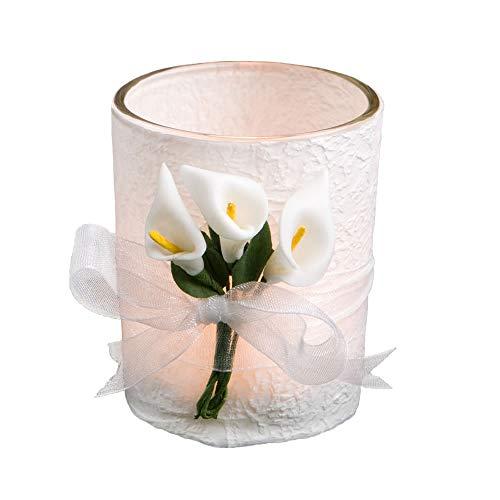 Fashioncraft Calla Lily Wedding Favor Candles, 24.