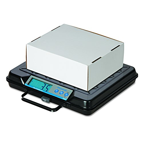 Brecknell GP100 Portable Electronic Utility Bench Scale, 100lb Capacity, 12 x 10 Platform