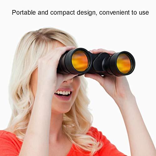 AYNEFY Binoculares de Largo Alcance 60x60, Binoculares de Largo Alcance BAK4 de Largo Alcance Prismáticos Profesionales Visión Nocturna HD para Observación al Aire Libre y Vision Nocturna y Diurna