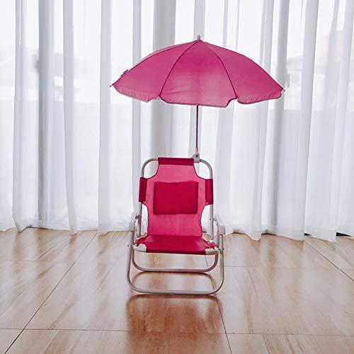 NXW Campingstuhl Klein Leicht Stabile Klappstuhl Fischen Stuhl Perfekt Für Beim Strand,Wandern,Camping,Urlaub,Terrasse,Rot