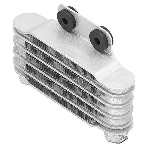 Surebuy Radiador, Accesorios de Autocycle del radiador de Aceite para la Bici de la Suciedad(Silver)