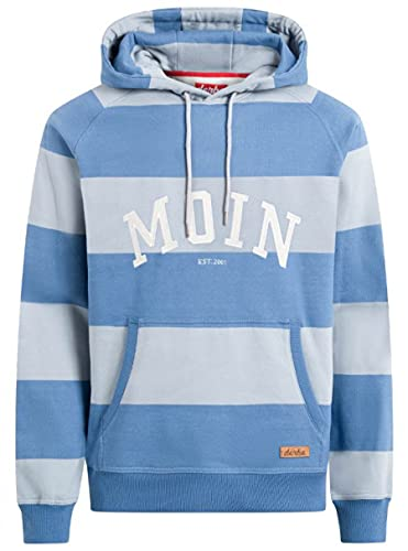 derbe Jersey Moin M-06-SWTHD-2003-03245 - Sudadera para hombre Quarry/Bijou Blue L