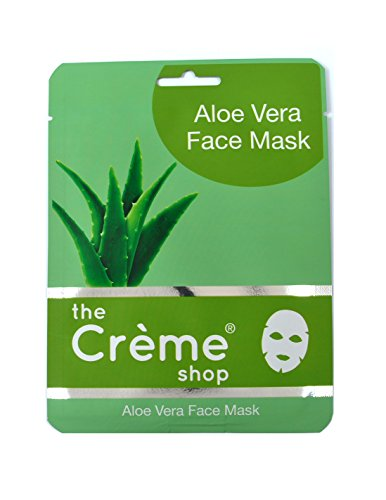Creme Shop 48 Pcs Aloe Vera Moisturizing Face Mask