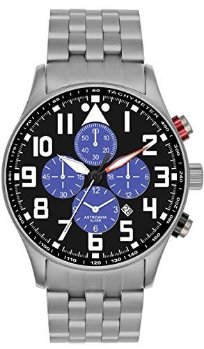 Astroavia V4S - Cronografo con allarme/sveglia - Orologio da uomo