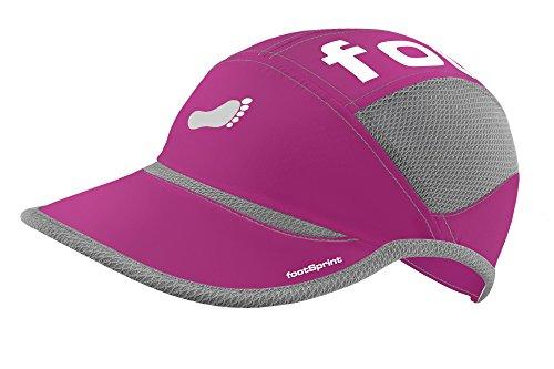 footSprint Super leichte Lauf-Mütze Running-Cap Kappe für Herren Damen tolle Farben für Sport und Freizeit, feinste Funktionsfasern atmungsaktiv hoch elastisch, [Sport & Freizeit Bekleidung]
