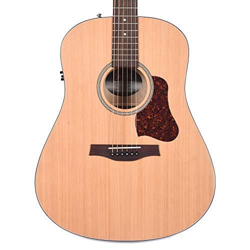 Seagull S6 Original Slim QIT (+ funda) - Guitarra electroacústica
