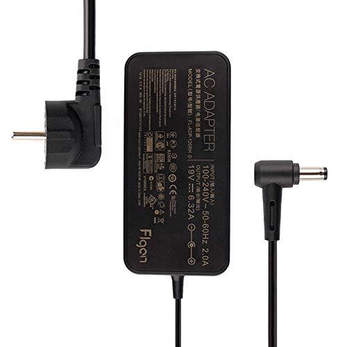 FLGAN 120W 6,32A Alimentatore di rete per PA-1121-28 ADP-120RH B Asus VivoBook Pro 15 N580VD N580V N705UD x705uv FX504 UX510UW N752VX N552VX N552VW GL553VW G553VW GL553 Rog G550 G551 G552 GL552 GL752