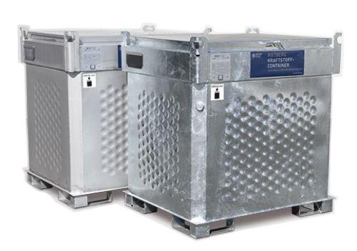 Benzinetank 1000 liter met pomp - transporttank - opslagtank - mobiele tankstation