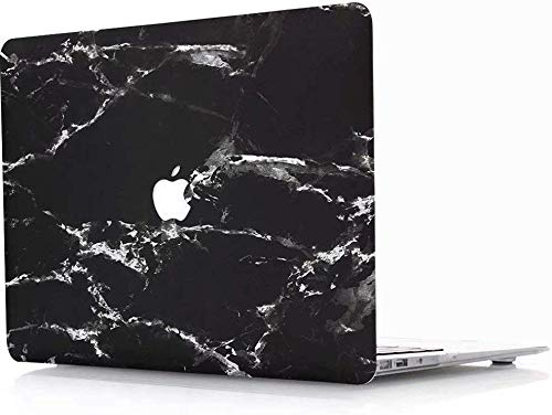 Marble for Old MacBook Pro 13 inch Retina A1502 / A1425 (2012-2015) Hard Case Cover Shell item RQTX (marble black)