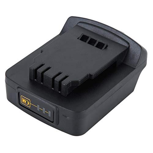Convertidor de batería Convertidor de batería de litio Alta dureza Durable Hermoso, para convertidor, para herramientas de taladro eléctrico de la serie de iones de litio de 18 V / 20 V