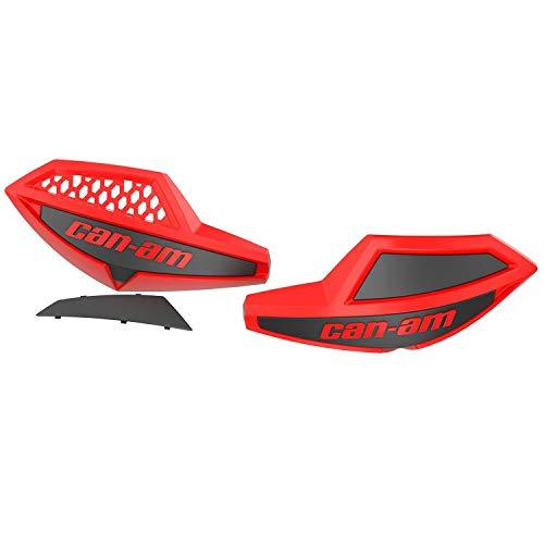 Can-Am Handlebar Wind Deflectors Outlander, Renegade (Viper Red/Black) 715006118