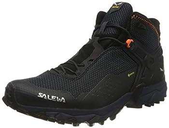 Salewa MS Ultra Flex 2 Mid Gore-TEX Chaussures de Trail, Black Out/Red Orange, 41 EU
