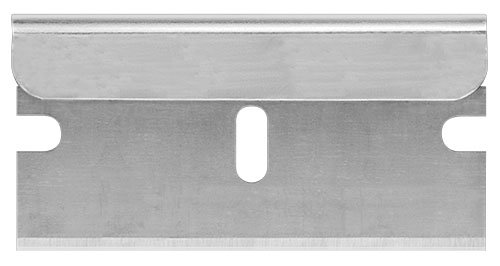 Pacific Handy Cutter RB009 Standard Single-Edged Industrial Razor Blades for Box Cutters, Box Of 100, Ultra Sharp, Single Edge, Replaceable Blades