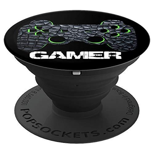 Gamer Videospiele Coole Geschenke Jungen Teenager Mädchen - PopSockets Ausziehbarer Sockel und Griff für Smartphones und Tablets