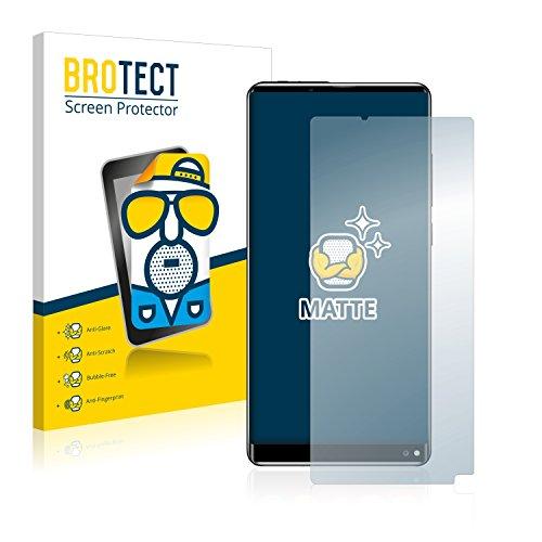 BROTECT 2X Entspiegelungs-Schutzfolie kompatibel mit Oukitel Mix 2 Bildschirmschutz-Folie Matt, Anti-Reflex, Anti-Fingerprint