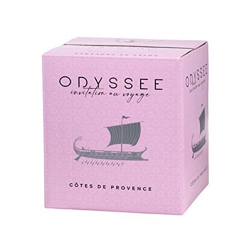 ODYSSEE BIB de Rosé - AOC Côtes de Provence - Bag in Box 3L - Cubi Rosé